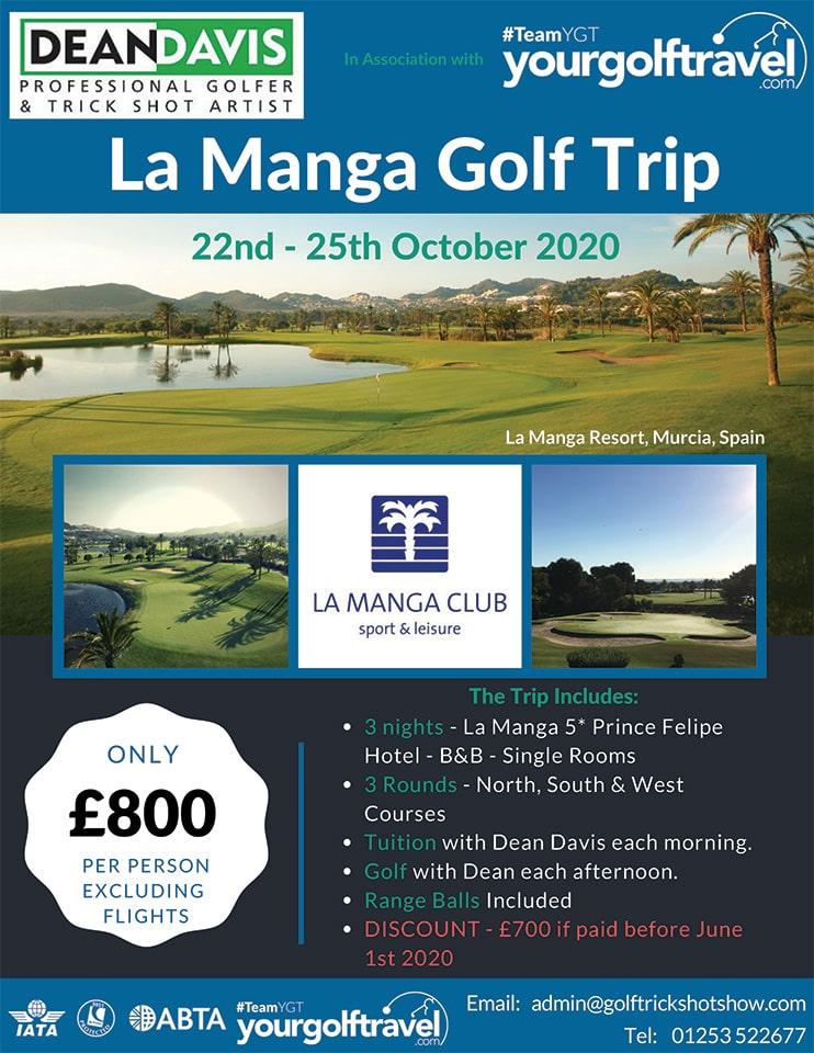 La Manga Golf Trip - October-2020 | Golf Lessons in La Managa | Golf Holiday in Spain | Golf Holiday to La Manga