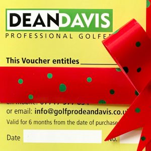 Golf Lesson Voucher | Christmas Golf Present | Golf Lessons Oxford | Golf Lesson Present Oxfordshire