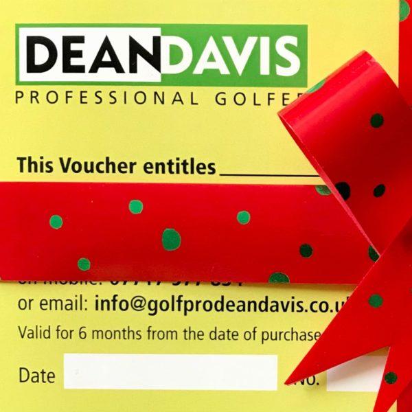 Golf Lesson Voucher | Christmas Golf Present | Golf Lessons Oxford | Golf Lesson Present Oxfordshire