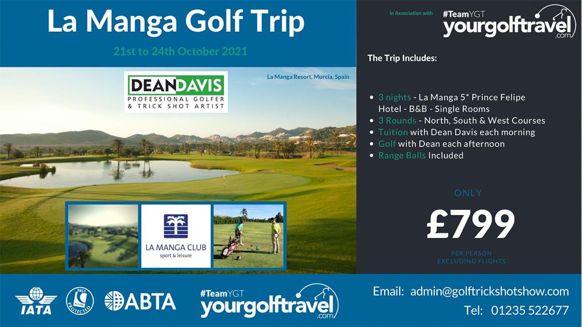 La Manga Trip - October 2021 | Golf Trip to Spain 2021 | Golfing Holiday La Manga 2021 | Help with Golf Holiday