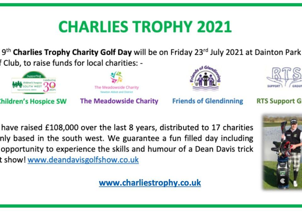 Charlies Trophy Charity Golf Day | Dean Davis Golf Show | Golf Trick Shot Show